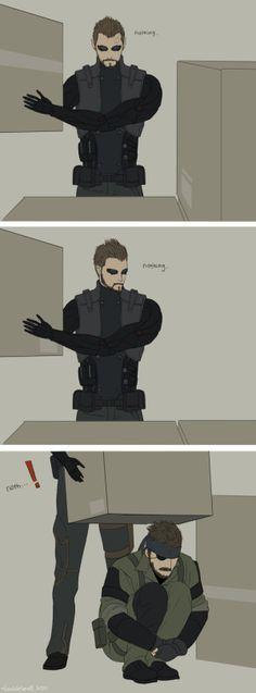 Deus Ex- Metal Gear Solid                                                                                                                                                                                 Más