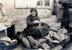 Bread seller in Galicia, Spain 1925. I love this photo!