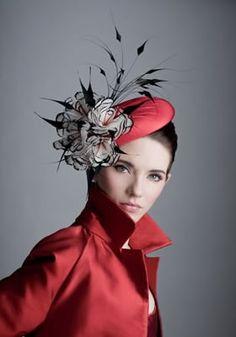 Rachel Trevor-Morgan Milliner London - headpieces and fascinators