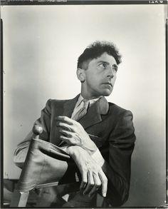 A 1940 portrait of Jean Cocteau by George Platt Lynes Old Photography, History Of Photography, John Galliano, Kenneth Anger, Yves Saint Laurent, Erik Satie, William Klein, Eugene Atget, Art Français