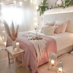 bedroom decor for couples . bedroom decor ideas for women . bedroom decor for small rooms . bedroom decor ideas for couples . Room Makeover, Home Decor Bedroom, Home Bedroom, Room Inspiration, Stylish Bedroom, Room Decor, Room Decor Bedroom, Warm Bedroom, Aesthetic Bedroom