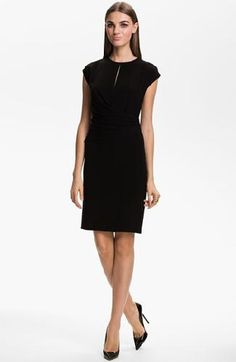 St. John Collection | More here: http://mylusciouslife.com/little-black-dress-shopping-suggestions/