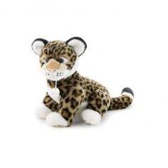 Peluche Leopard. Les peluches Trudi sont des peluches de collection fabriquées à la main.