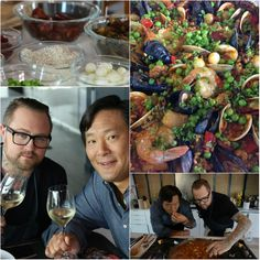 Ming and Jamie Bissonnette- Paella recipe