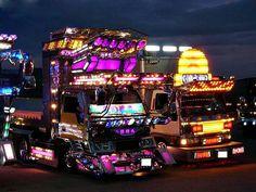 Los Increíbles Camiones Japoneses Dekatora