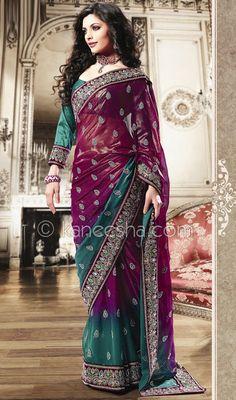 Saris have such rich, wonderful color.