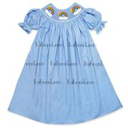 Smocked Rainbow Bishop size 1T-5T @20 plus shipping