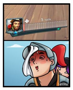 When you barely escape, but don't notice the flanker sneaking up on you.