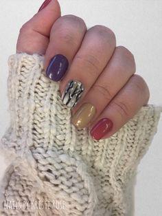Winter Nails: Jasmine Cherry, Meet Me at the Chapel, Raven's Kiss, Evening Storm, Desert Rain, Gilty Soiree, Beauty Queen #GelMoment