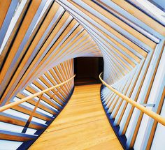 Aspiring Geometry by semi-detached on flickr  This is the Bridge of Aspiration - a footbridge linking the Royal Ballet School and the Royal Opera House in Covent Garden, London.