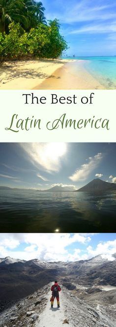 Chill out and meditate on Lake Atitlan in Guatemala. Discover architecture and nature in Mexico. Climb Bolivian mountains. Relax on the best beaches in Central America and the Caribbean. See nature at its wildest in South America. There's a Latin American travel destination for you in 2018 and beyond...Start planning your trip here! #LatinAmerica #travel #destinations
