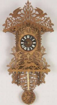 If you are looking for a magnificent scroll saw clock plan look no further. The Black Forest Clock Plan is a great scroll saw plan that will provide you all the information you need to make your own Black Forest Clock.