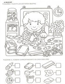 Crafts,Actvities and Worksheets for Preschool,Toddler and Kindergarten.Lots of worksheets and coloring pages. Back To School Worksheets, Kindergarten Worksheets, Preschool Activities, Coloring Books, Coloring Pages, Hidden Pictures, Math For Kids, Math Lessons, Teaching Math