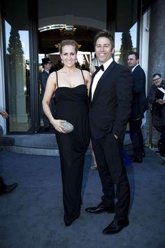 Camilla Gohs Miehe-Renard med sin mand Nicolai Gohs.
