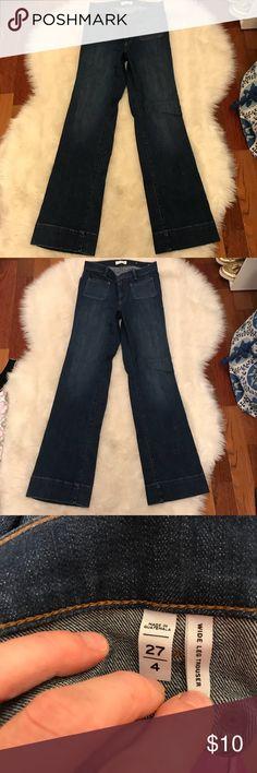 LOFT wide leg jeans Excellent perfect condition! LOFT Jeans Flare & Wide Leg