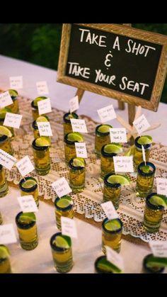 Fun idea for wedding