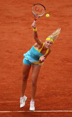 Kristina Mladenovic at the French Open Day 5 2013 #WTA #Mladenovic #RolandGarros