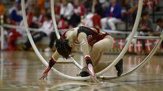 WC 2013 in Wheel Gymnastics  Senior Woman straight line Aya Horiguchi 3r...