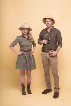 Best 25+ Safari Costume Ideas On Pinterest | 3 People Halloween in Diy Couples Costumes Pinterest