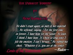 The Darkest Torment, Lords of the Underworld, Gena Showalter, Adult, Paranormal Romance, Bookreview #teaser