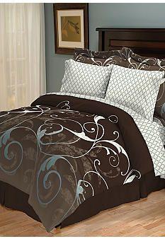 Brown and teal bedding Bedding ummm Pinterest Teal bedding