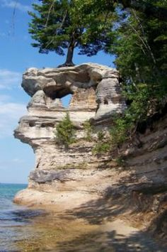 Chapel Rock, Pictured Rocks (my own photo)