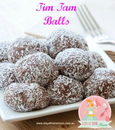 Tim Tam Balls | Stay at Home Mum