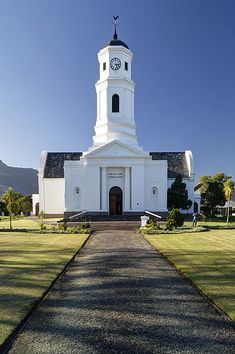 Thumbnail for version as of 29 September 2012 George South Africa, Cathedrals, Mosques, Old Country Churches, Knysna, Cathedral Church, Church Building, Out Of Africa, Paragliding