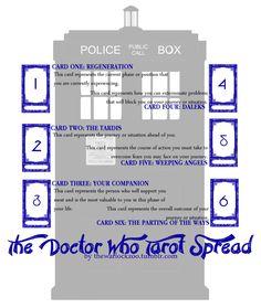 Doctor Who tarot spread