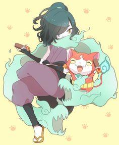 Yo-Kai Watch | Venoct and Jibanyan