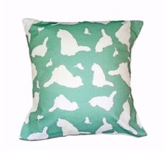 Cat Silhouette Kitty Cushion And Cover Mint Green Cat Cushion, Cushion Pads, Cat Silhouette, Cat Design, Mint Green, Cats And Kittens, Cushions, Kitty, Throw Pillows