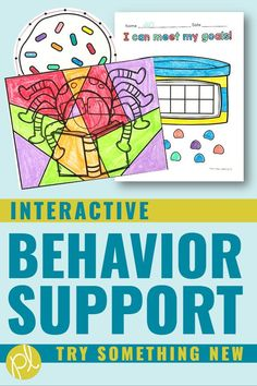 Positive Behavior Chart - Ready to try something new to support our students? This is a HUGE set of interactive behavior visual charts that are both motivating and EASY to use. From Positively Learning Blog #behaviorcharts #positivebehavior