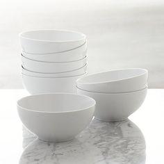 Set of 8 Aspen Bowls | Crate and Barrel