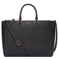 Tory Burch Robinson  Perforated  Tote  NWT Description in top last photo.  My husband bought   650.00 plus tax is 702 .36. I love him for it just to big. Please don't low ball I won't respond. Tory Burch Bags Satchels