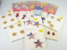 Lot/set of 30 pc. piece ct. count #sequin & #embroidered #embroidery #crafting #craft appliques, including both iron and sew-on brand new & #vintage stars, bunnies, ladybugs, socks & more! Brand new & factory sealed in original manufacturer's clear plastic retail protective packaging package http://www.ebay.com/itm/LOT-30-CRAFTING-APPLIQUES-IRON-SEW-ON-NEW-VINTAGE-STARS-BUNNY-LADYBUGS-SOCKS-/140999677126?pt=LH_DefaultDomain_0&hash=item20d43c54c6