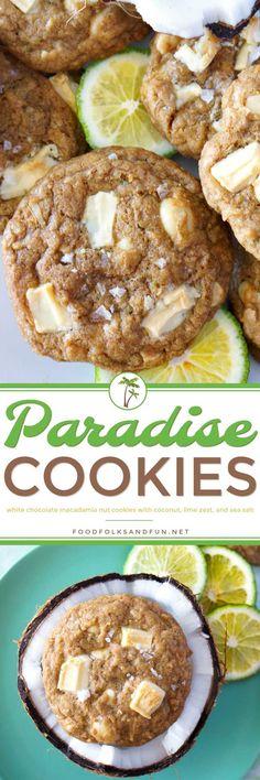 Paradise White Chocolate Macadamia Nut Cookies Recipe   Food, Folks and Fun