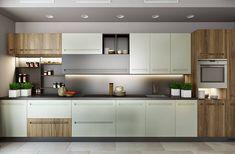 «Городская сказка»: огромная квартира в Киеве Modern Kitchen Cabinets, Kitchen Furniture, Modern Kitchens, Small Kitchens, Kitchen Ideas, Dream House Plans, Dining Area, Salons, Home Decor