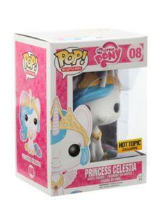 Funko My Little Pony Pop! Princess Celestia Vinyl Figure Hot Topic Exclusive