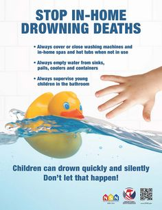 Children can drown quickly and silently. Don't let that happen!