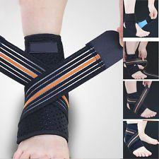 Compression Drop Foot Support Ankle Foot Orthosis Brace Strap Elastic Sroke C08