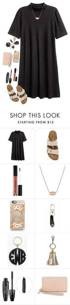 """"""""""" don't want me to go, but you don't ask me to stay """" """" by kennamber on Polyvore featuring Birkenstock, Anastasia Beverly Hills, Kendra Scott, Casetify, Tory Burch, Moon and Lola, ILI and Sephora Collection"""