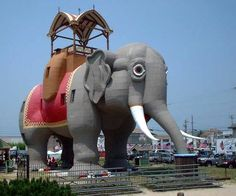 Lucy the elephant   nj, Not cape may county, but close enough