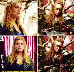 The 100 - Clarke and Lexa #2.7 #Season2