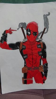 Deadpool (my drawing)