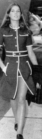 Carolina do Monaco en los años 70