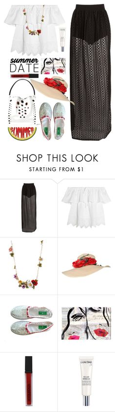 """""""09.06.16"""" by malenafashion27 ❤ liked on Polyvore featuring Madewell, Oliver Gal Artist Co., Smashbox and Lancôme"""