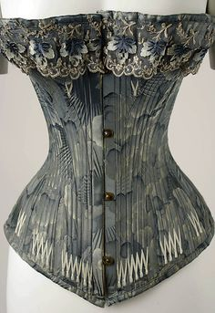 Corset - 1878 - The Metropolitan Museum of Art