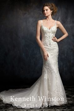 Mermaid wedding dress, available in Ivory/Ivory Silver (Pictured) - Champagne/Ivory Silver - White/White Silver. Made of Embroidered Lace/Sequined Tulle/Organza/Satin. Available in Size 2 to 28 or with your own custom measurements for a bespoke fit. Gatsby Wedding Dress, Wedding Attire, Designer Wedding Dresses, Bridal Dresses, Bridesmaid Dresses, Beautiful Wedding Gowns, Beautiful Dresses, Wedding Styles, Marie