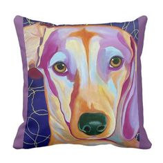 #Dashing Dachshund Throw Pillow - #dachshund #puppy #dachshunds #dog #dogs #pet #pets #cute