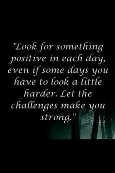 There is a tiny dash of positivity even in the utmost negative circumstances.